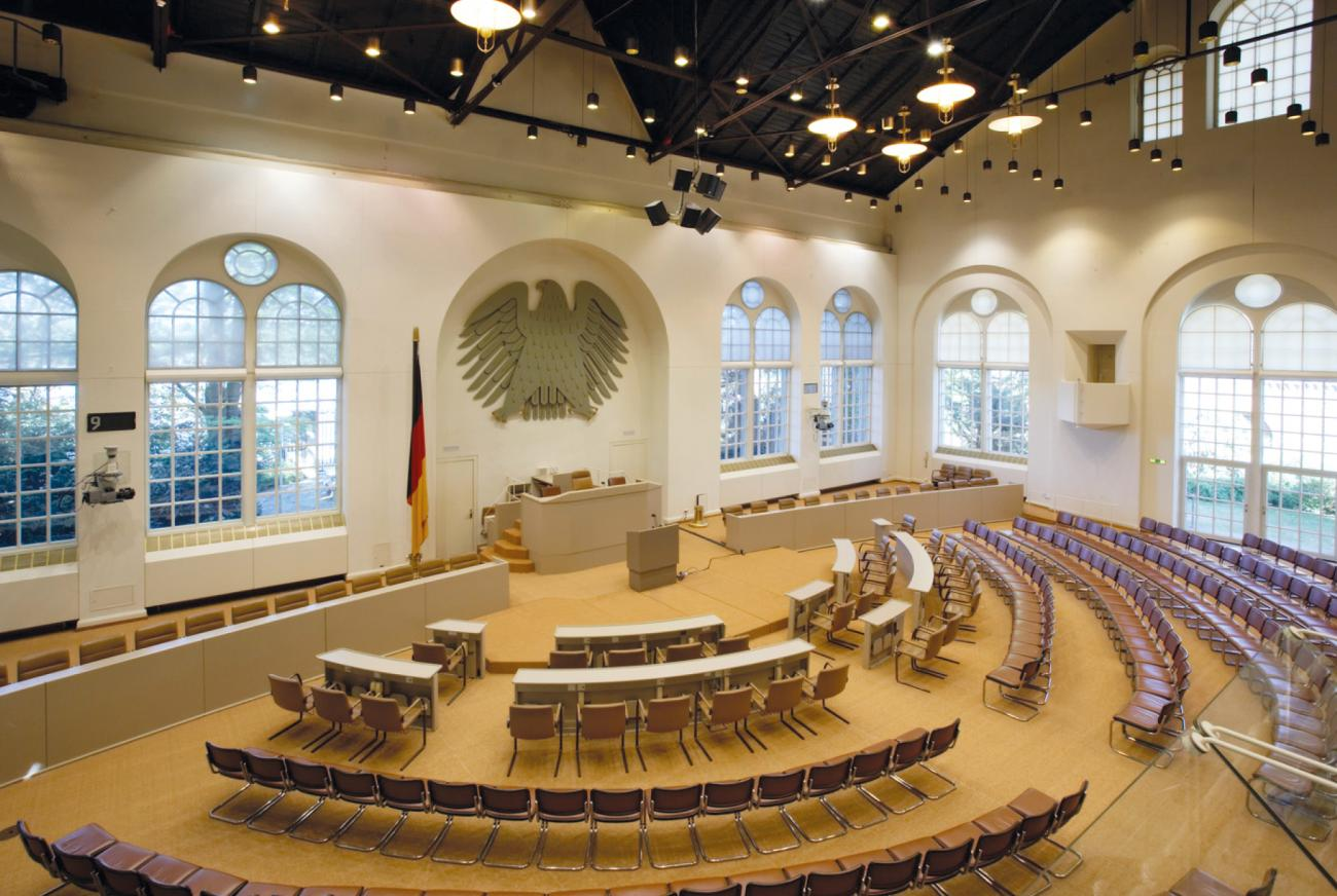 Former Bundestag meeting room. (photo © WorldCCBonn)