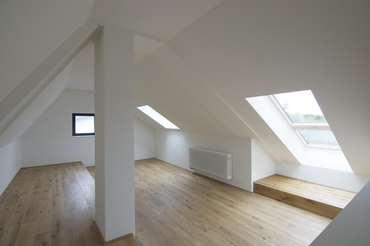the expanded loft floor