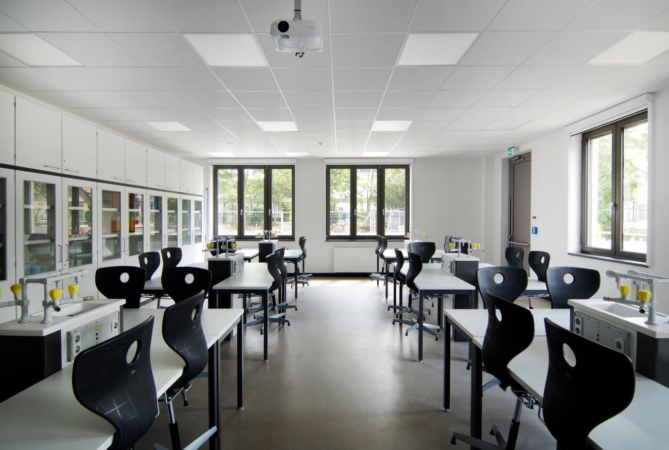 new natural science classroom
