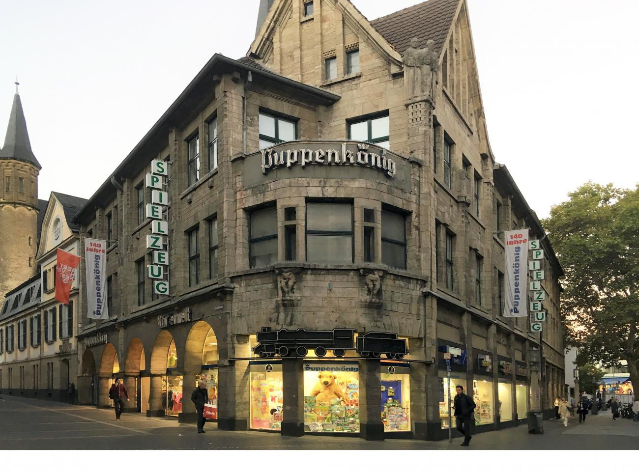 The building with the former toy shop 'Puppenkönig', Bonn