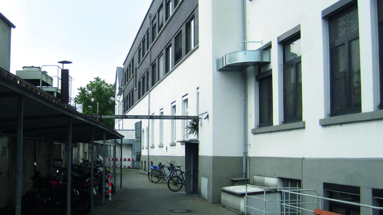 facade of the office building 'SGL Carbon GmbH'