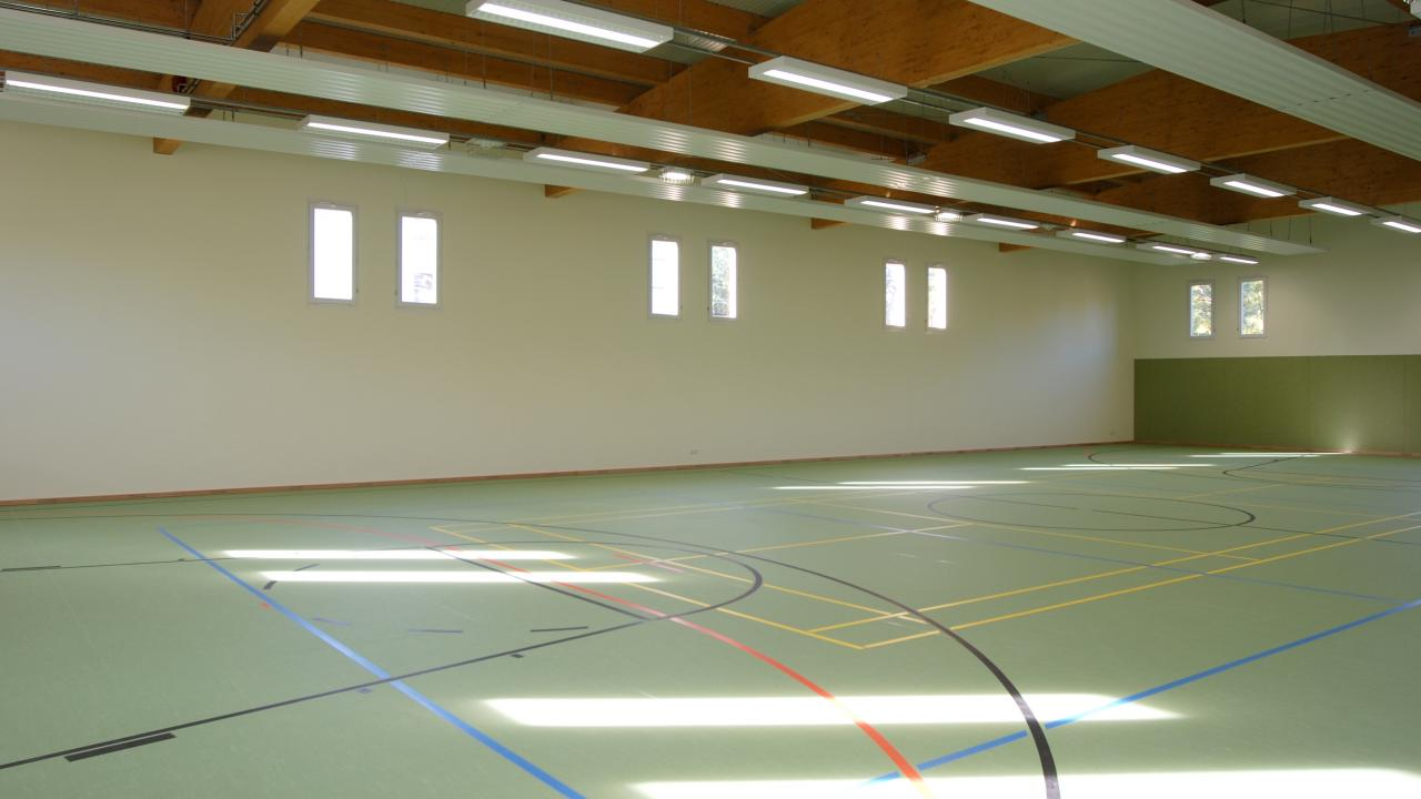 One-field sports hall of the Hauptschule Rheinbach